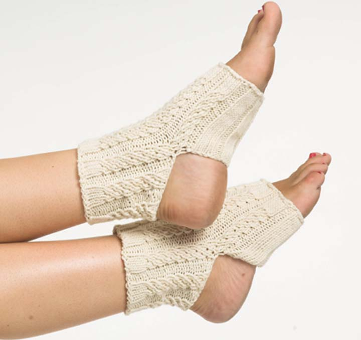 Oceanside Organic Yoga Sock