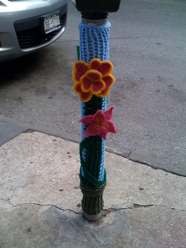 Knitta in Brooklyn