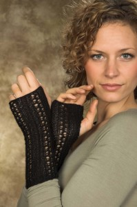 Buckingham Fingerless Gloves