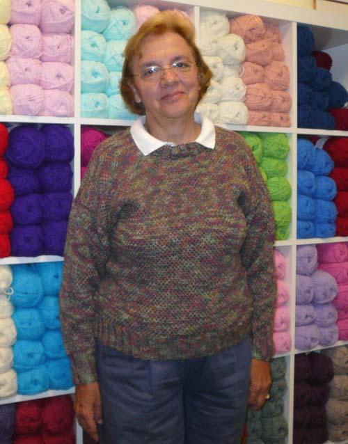 Dottie in Sockin' Sox Sweater