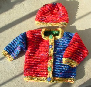A Handknit Sweater by Debora