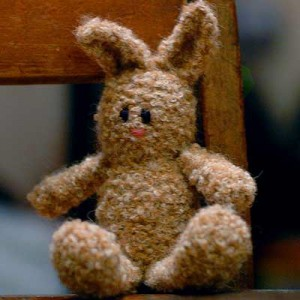 Bunny using Plymouth Alpaca Boucle