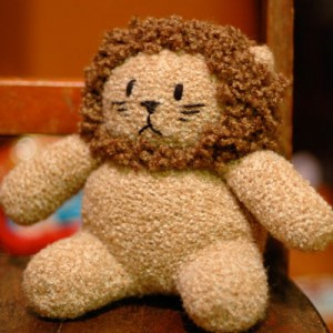 Lion using Plymouth Alpaca Boucle