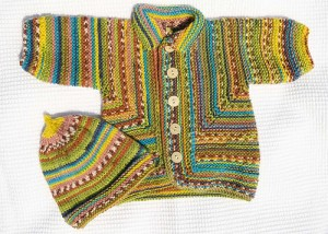 Baby Surprise Jacket in KnitCol, color 047