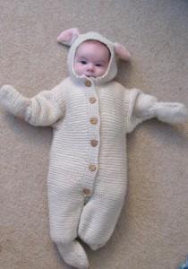 Baby Brennan in Baby Alpaca DK