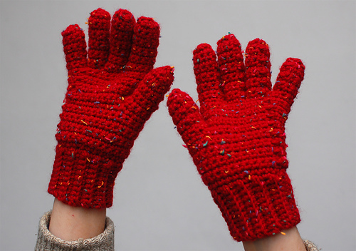Galway Crochet Gloves, 1 ball