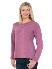 Royal Llama Silk Saturday Sweater