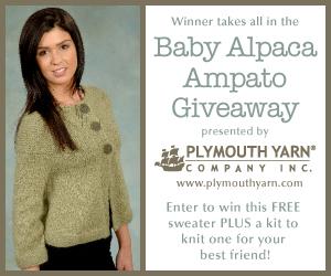 Baby Alpaca Ampato Giveaway