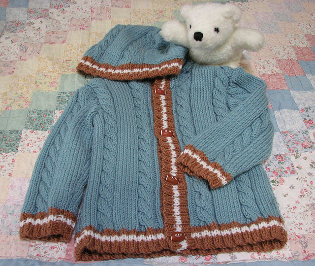 Knit in size 1-2 years in Baby Boutique