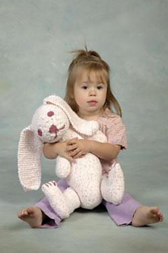 Snuggle Knit Bunny