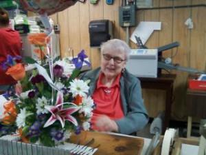 Betty on her 87th Birthday!