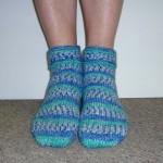 Encore Worsted Ladies Slipper Socks SFA-03