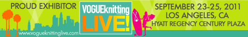 Vogue Knitting Live! California.