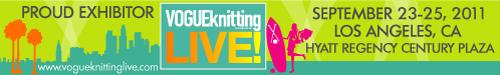 Vogue Knitting Live! California.