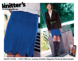 Knitter's Magazine Fall 2011 K104