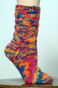Encore Worsted Sock Pattern P417