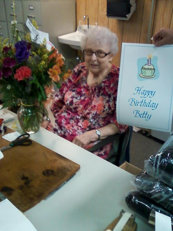 Happy 88th Birthday Betty!