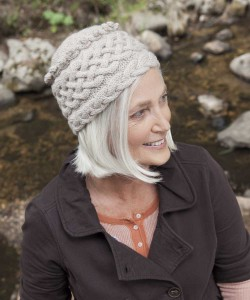 Galway Worsted: #722, 1 skein for BRAIDED TOQUE by Andrea Babb