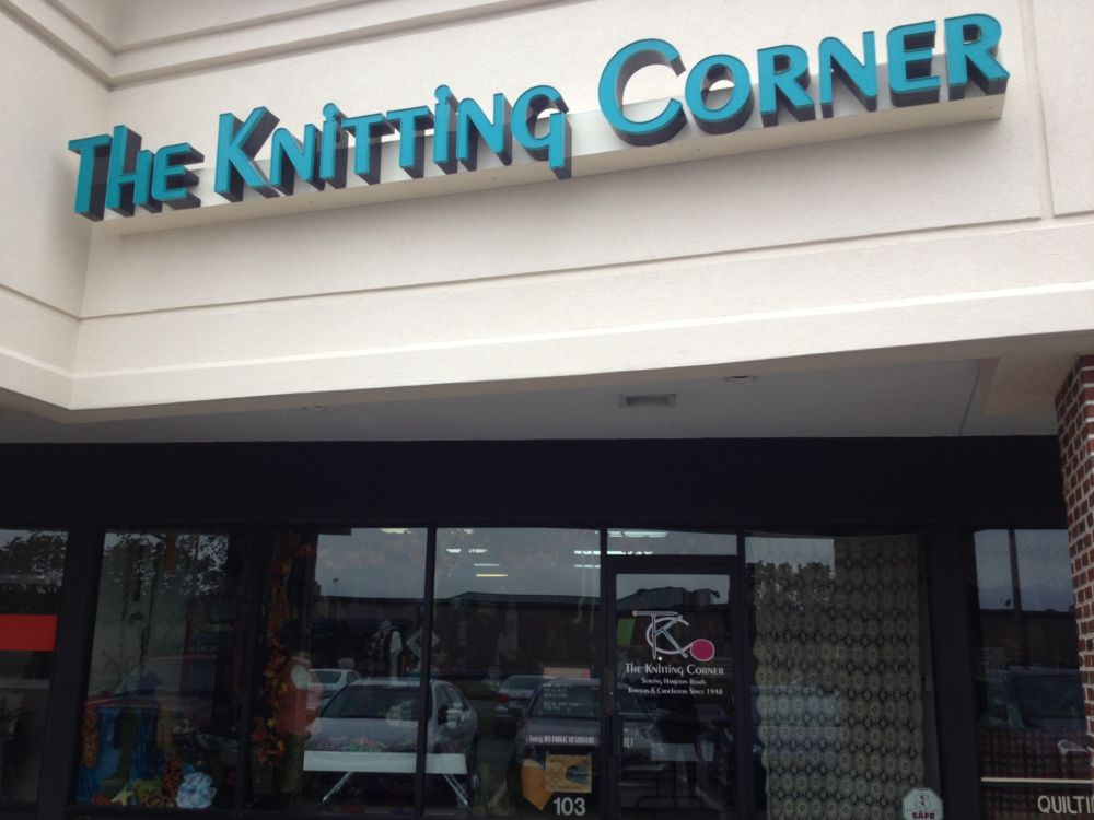 Moving Right Along…..To The Knitting Corner!