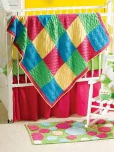 Bright Baby Squares in Encore Chunky