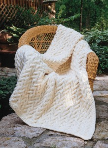Sand Dunes Throw in Encore Chunky