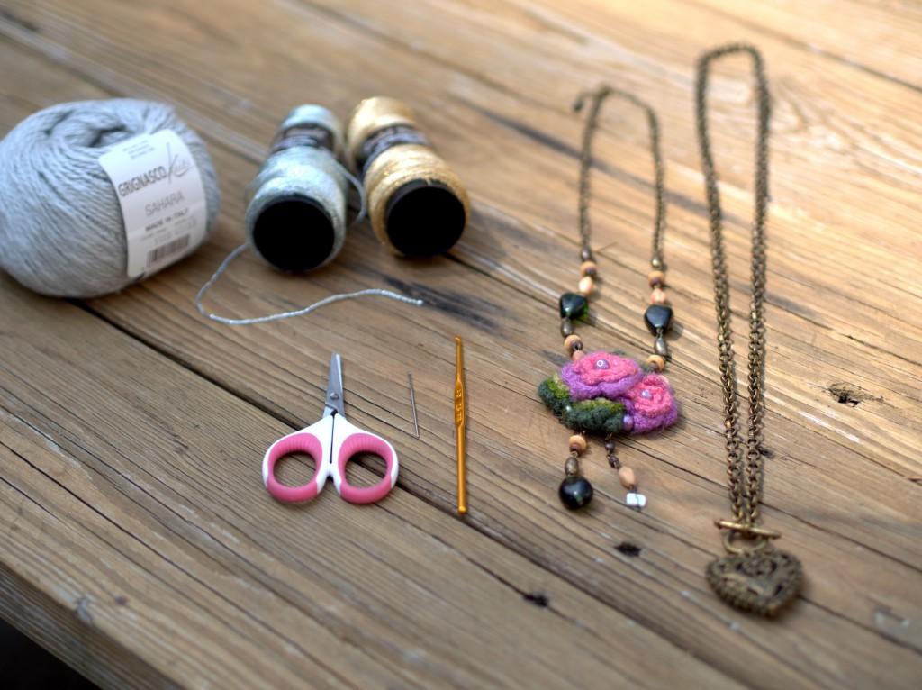 Embellishing Necklaces