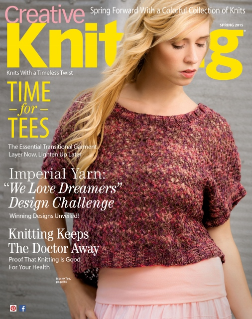 Creative Knitting Spring is out today