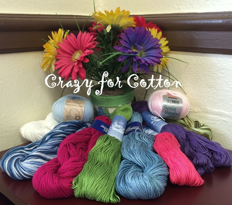 May Giveaways! Crazy for Cotton!