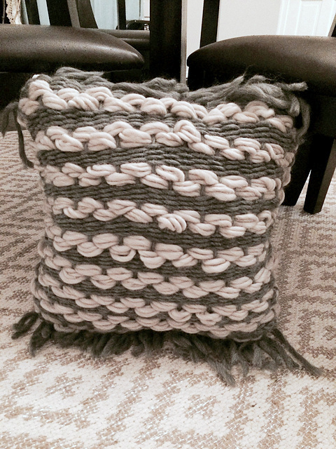 Galway Roving Woven Pillow
