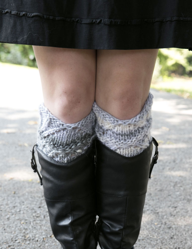 Mushishi Big Boot Toppers- a new yarn + free pattern