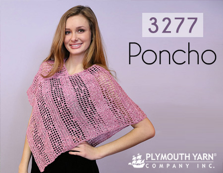 Plymouth Yarn Poncho Pattern 3277 On Ravelry Plymouth Yarn