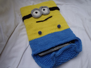 Minions tablet or I-pad cover by Stana D.Sortor