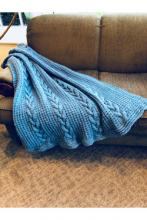 Cielo Yarn Blanket Pattern