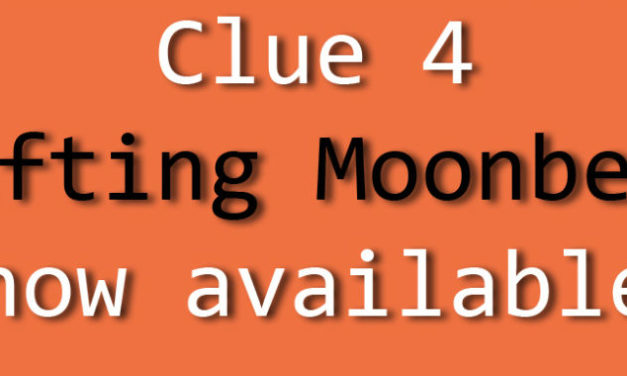 Ghost of the Moon Mystery Knitalong Clue 4