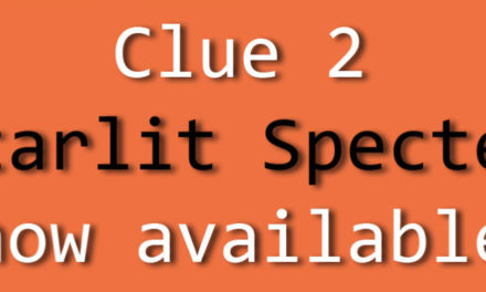 Ghost of the Moon Mystery Knitalong Clue 2