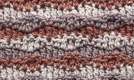 5-Panel Blanket Crochet Along: Panel 2