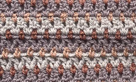 5-Panel Blanket Crochet Along: Panel 4