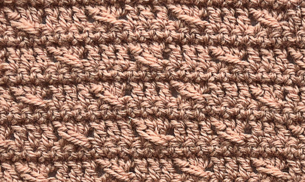 5-Panel Crochet Blanket: Panel 5