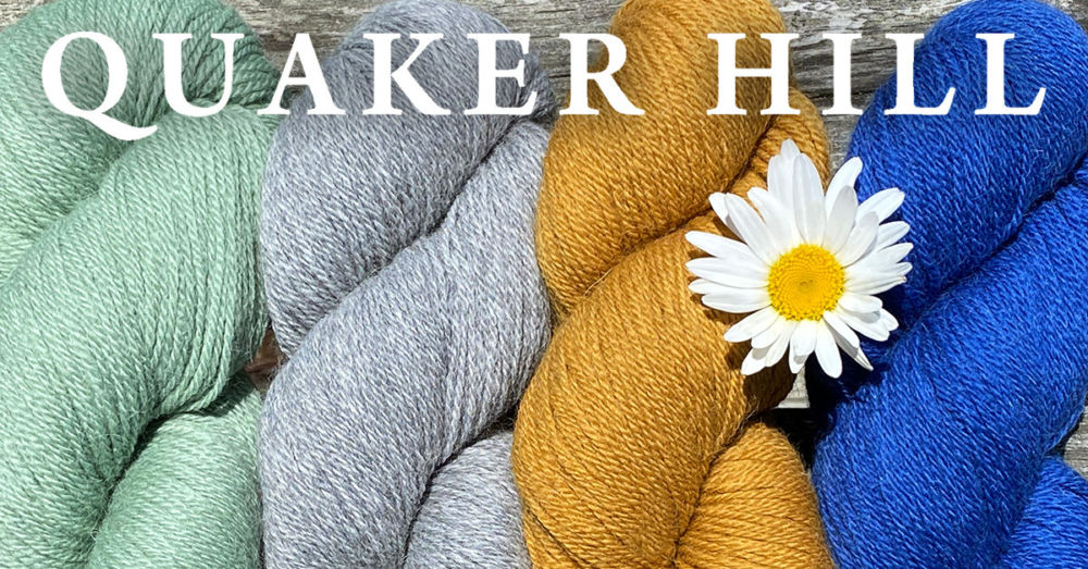 Quaker Hill Yarn and the Scarlet Runner Vest
